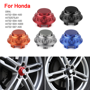 4pcs aluminum Car Wheel Center Hub Caps Wheel Dust-proof Hubcap Cover Suitable for Honda hubcap with outer diameter of 68 mm image