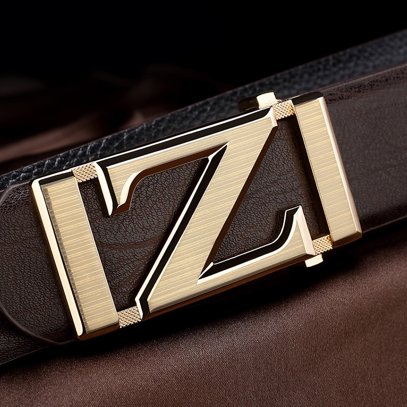 High Quality Z belts mens designer fashion popular luxury famous brand Waistband genuine leather slide buckle brown Waist Strap