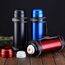 Stainless Steel Insulated Thermos Bottle 1L/2L/3L Travel Coffee Mugs Thermal Vaccum Water Mug