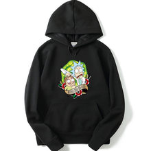 Die neue Sweatshirt männer frauen Rick und morty hoodies harajuku gedruckt männer hoodies pullover Winter hoody trainingsanzüge Rick und morty(China)