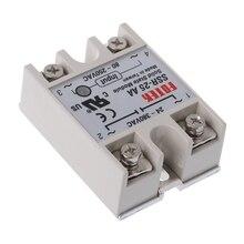 цена на Solid State Relay Module SSR-25 AA 25A 250V 80-250V AC Input 24-380V AC Output