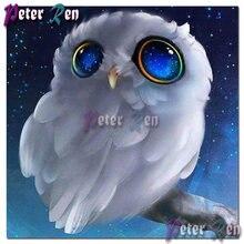 Алмазная картина «сделай сам» из мультфильма вышивка Белая Сова