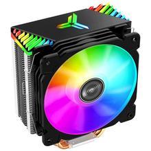 Jonsbo CR1000GT 4 히트 파이프 ARGB 타워 데스크탑 CPU 쿨러 팬 인텔/AMD 컴퓨터 냉각 시스템 구성 요소