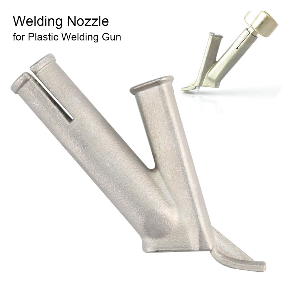 Triangle Y Hot Air Gun Nozzle Kit For Floor PP PVC PP Plastic Speed Welding Nozzle Tip For Welding Plastic Leister Vinyl Welder