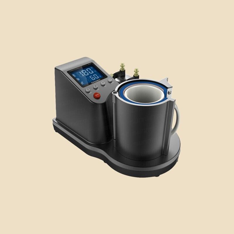 Free shipping new 3D thermal mug thermal transfer machine Cup heat press machine pneumatic mini automatic pneumatic Cup