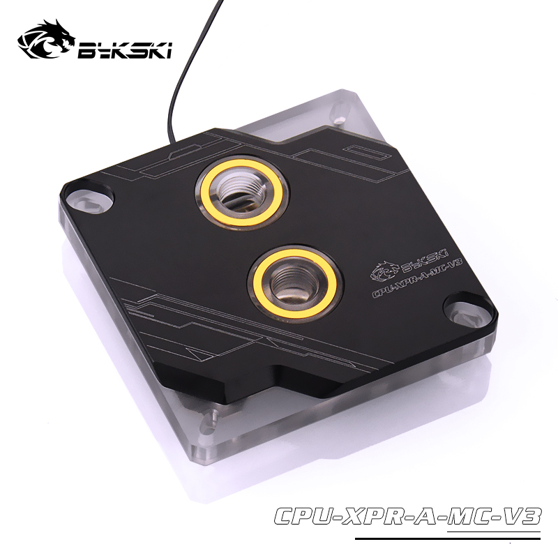 Bykski Motherboard Symphony AURA Sync <font><b>CPU</b></font> Water Block For INTEL 1151 115x <font><b>2011</b></font> 2066 I7 <font><b>CPU</b></font>-XPR-A-MC-<font><b>V3</b></font> image