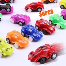 Car-Toy Children Vehicle Mini-Set Cars-Party-Favor Birthday-Play Plastic for Boys Kids