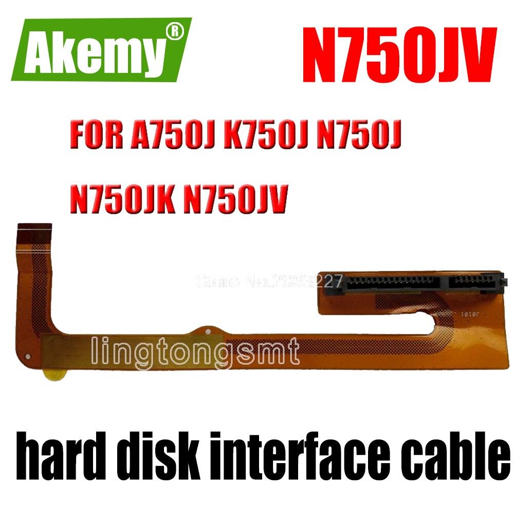 Original para asus a750j k750j n750j n750jk n750jv HDD2-FPC com interface de disco rígido