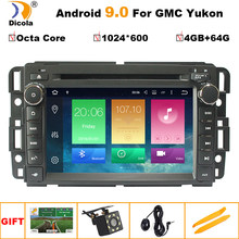 "7"" IPS HD Octa Core 4G+64G Android 9 Car DVD for GMC Yukon Sierra Chevrolet Chevy Tahoe Suburban Car DVD GPS Stereo Radio Nav(China)"