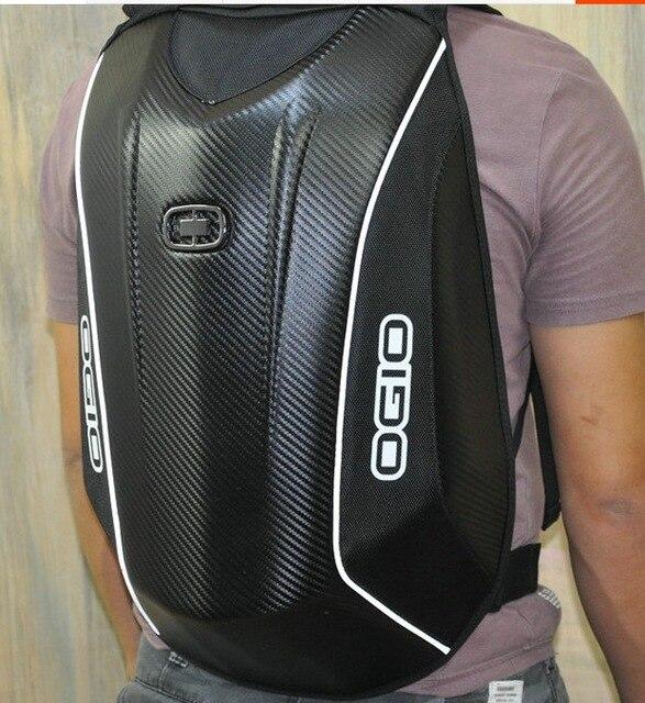 OGIO 5 Мах углеродное волокно Мода Мощный хранения шлем для путешествий для мотоциклистов езда Гонки сумка рюкзак несколько моделей