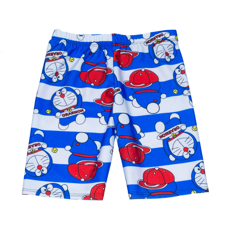 2018 New Style Children Baby Bathing Suit BOY'S Boxer Swimming Trunks Swimming Suit Cute Cartoon Swimwear