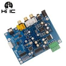 ES9038Q2M ES9038 Q2M I2S DSD אופטי קואקסיאלי IIS/DSD DOP 384KHz קלט מפענח DAC אוזניות פלט אודיו מגבר לוח