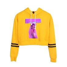 New popular Ariana Grande women's hoodie Harajuku girl hoode