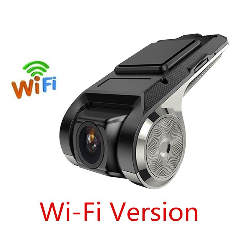 Автомобильная камера ADAS DVR Full HD 1080P видео рекордер g-сенсор Wi-Fi с tf-картой ночная версия Обнаружение движения Автомобильный видеорегистратор USB - Название цвета: wifi version