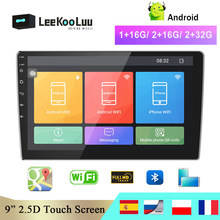 LeeKooLuu Car Radio 2 din Android Multimedia Player 9″ GPS Navigation WIFI Bluetooth Player for Toyota VW Hyundai Kia Nissan