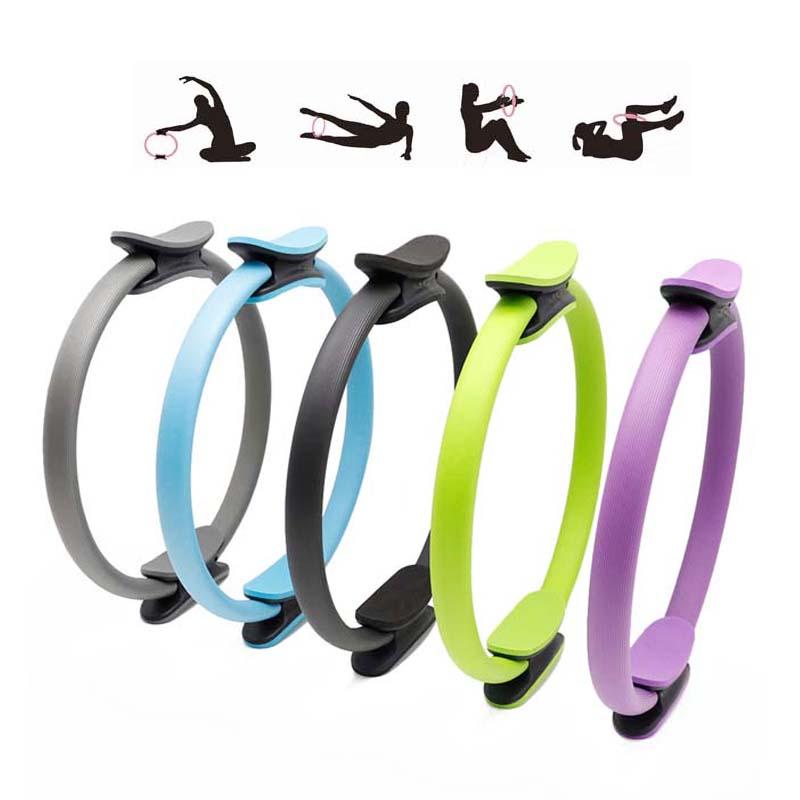Professional Yoga Circle Pilates Sport Magic Ring Women Fitness Slimming Body Building Yoga Circles Gym Workout Pilates Tools