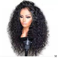 LUFFYHAIR Remy Peruvian Kinky Curly Human Hair Wigs