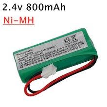 2.4V 800mAh Ni-MH Cordless Phone Battery for Uniden BT-1011