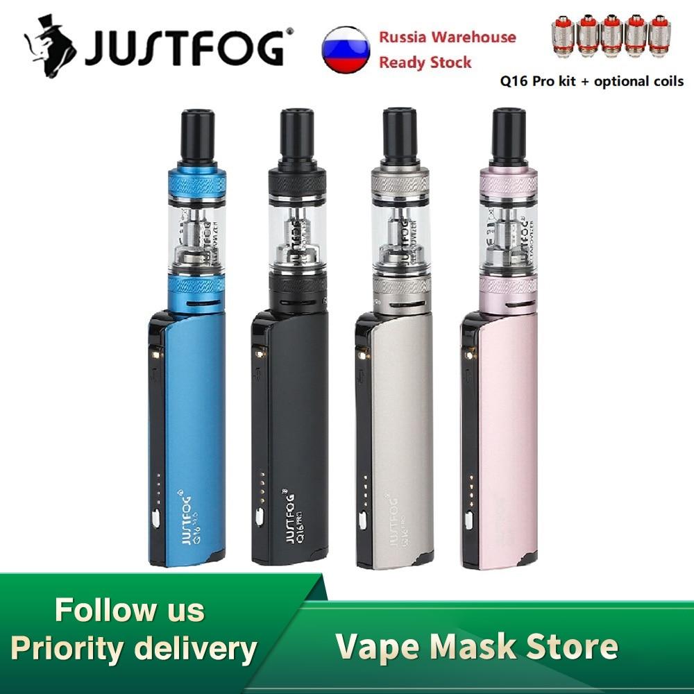NEW JustFog Q16 Pro Kit With 900mAh Battery & 1.9ml Tank & 1.6ohm Coil & 4 Variable Voltage E-cig Vape Kit Vs Minifit / Q16