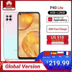 Huawei Hisilicon Kirin 810 P40-Lite Smartphone 6GB 128GB GSM/WCDMA/LTE Supercharge Octa Core