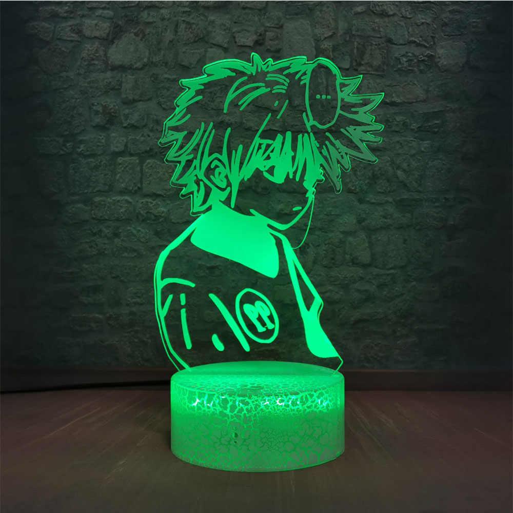 Japanese Famous Anime Cool Boys Night Light Crack Touch Remote Smart Base White Soft Hair Boy Cartoon Led Lamp Led Night Lights Aliexpress