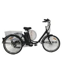 250 w motor elétrico 6 velocidade adulto triciclo bicicleta em frança triciclo elétrico adulto triciclo chinês|Processadores de alimentos|   -