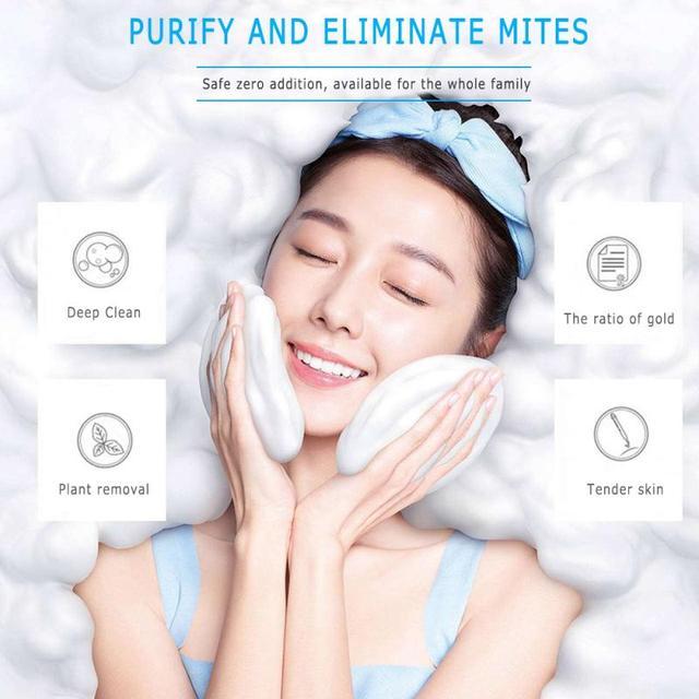 Moisturizing Oil Control Sea Salt Soap Makeup Removal Mite Pores Acne Sulphur Wash Face Goat Milk Soap Pimple Face Care TSLM2 1