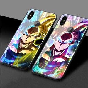 Dragon Ball Z Karakter Dbs Goku Zachte Siliconen Glas Telefoon Case Cover Shell Voor Xiao Mi Mi 8 9 Se Mi X 2 2 S 3 Redmi Note 6 7 8 Pro