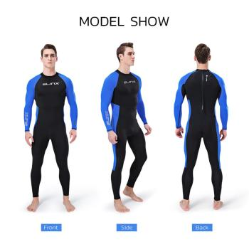 цена на Men's Full Body Wetsuit Sunblock Neoprene Wetsuit 3mm Men Neoprene Long Sleeves Dive Suit For Scuba Diving Surfing Swimming
