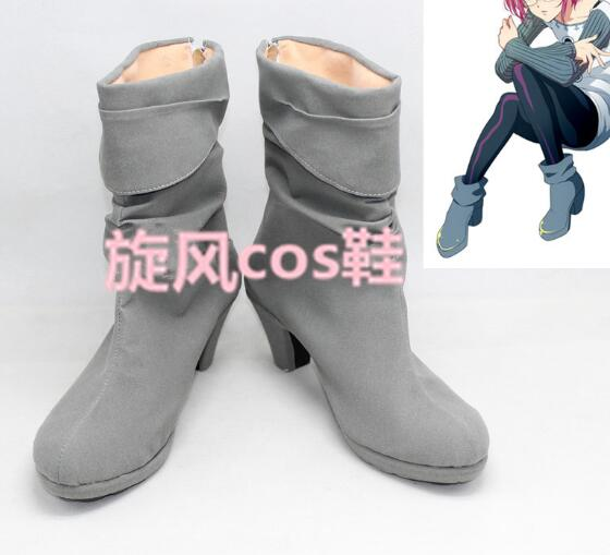 The Seven Deadly Sins Nanatsu No Taizai Goat's Sin Of Lust Gowther Cosplay Shoes Boots Custom-Made