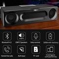 Bluetooth динамик коробка diy деревянная Портативная колонка звуковая система 3D стерео музыкальный центр объемный сабвуфер Саундбар FM для компь...
