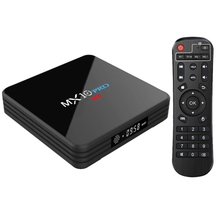 купить Mx10 Pro Android 8.1 Tv Box 4Gb / 32Gb Rk3328 / 4K / Vp9 / H.265 / Hdr10 / Usb3.0 / Bluetooth 4.1 / Dlna / Miracast / Airplay / дешево