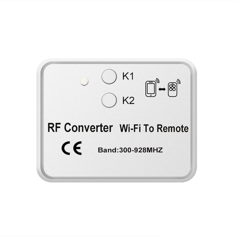 Mobile Control Wifi Rf Converter For Garage Gate Beninca Came Doorhan Transmitter 300-928Mhz