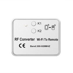 Sterowanie mobilne wifi rf konwerter do brama garażowa Beninca Came Doorhan nadajnik 300 928Mhz na