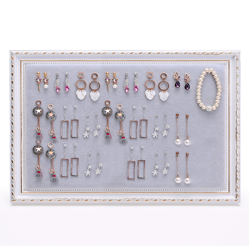 European Style Frame Wall-Mounted Fashion Er Huan Jia Jewelry Rack Necklace Jewelry Stand Ear Stud Showing Stand Storage Jewelry
