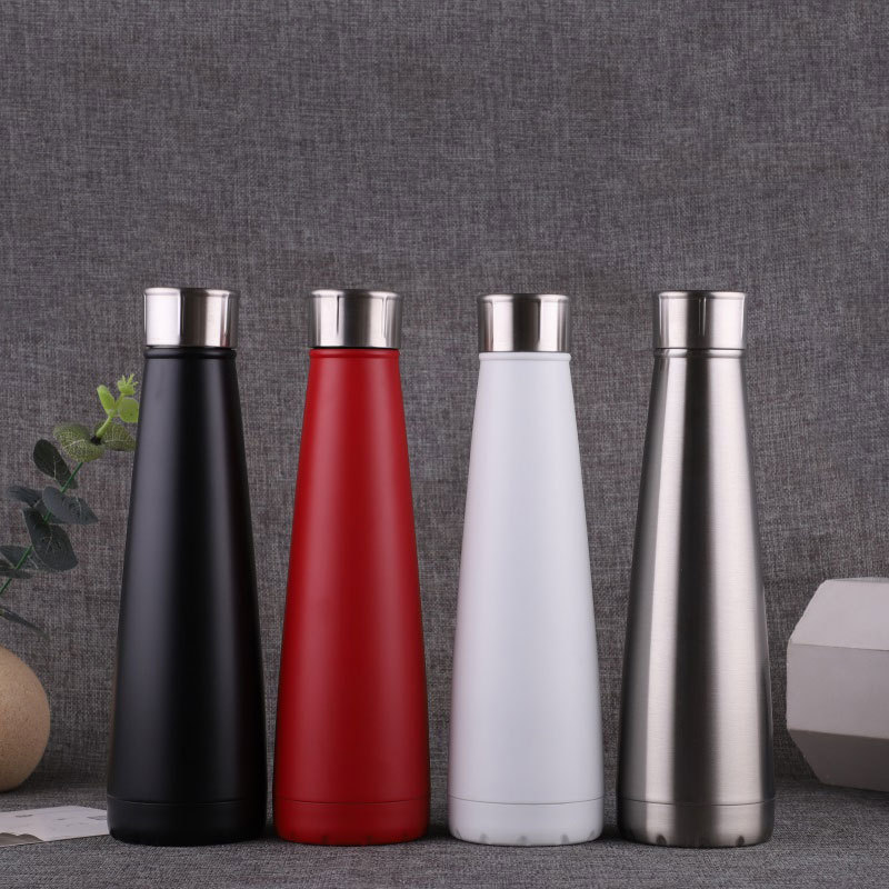 1pc Custom Logo Thermos Bottle Stainless Steel Water Bottles Vacuum Insulated Cup Outdoor Flask Sport Protein Shaker Drinkware|Water Bottles| |  - AliExpress
