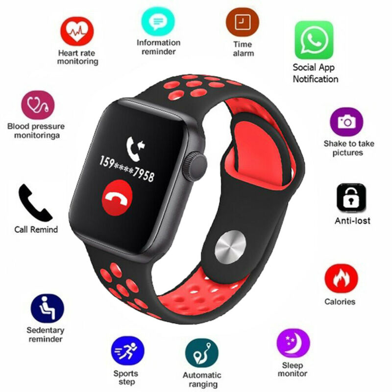 Waterproof <font><b>W5</b></font> <font><b>Smart</b></font> <font><b>Watch</b></font> Bluetooth Bracelet Wristband Fitness Tracker Heart Rate Monitor For IOS Android <font><b>Smart</b></font> Phone image