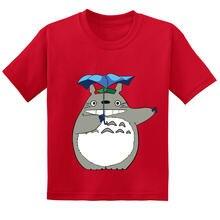 Лидер продаж 2020 Японские Аниме футболки totoro для детей забавные