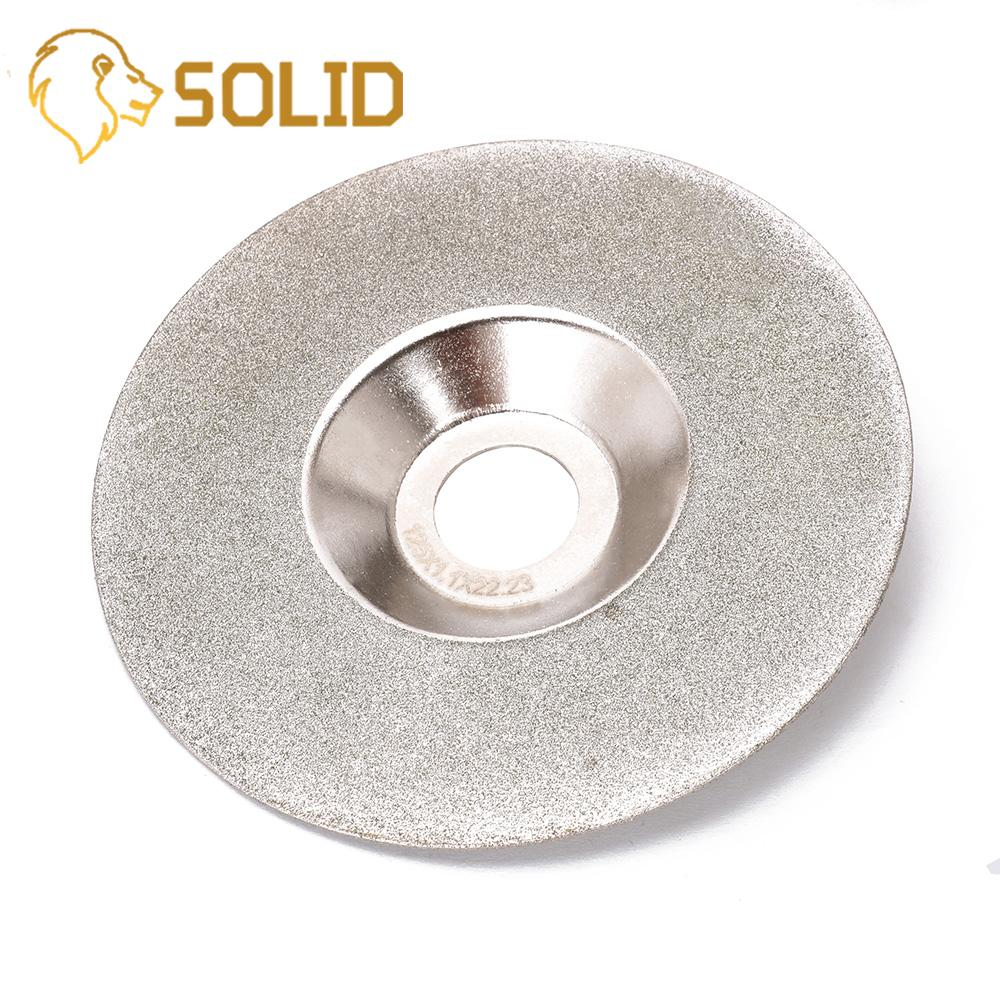 125mm Diamond Grinding Disc Electroplate For Jade Marble Tile Glass Angle Grinder Rotary Tools Abrasive Tool