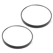 2Pcs Makeup Mirror Wall Mount Magnifying Mirrors 15x Magnification for Face Care Cosmetic Bathroom Shaving(China)
