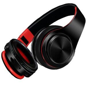 Image 3 - NDJU casque sans fil Bluetooth écouteur Bluetooth casque pliable réglable mains libres casque avec micro pour téléphone portable