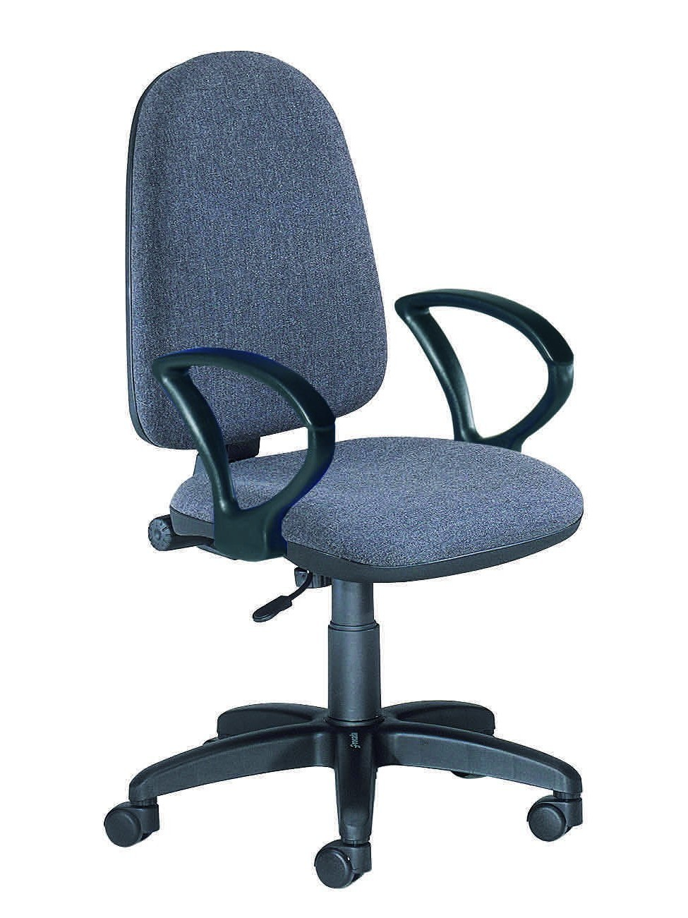 OFFICE CHAIR RD930/1 GREY IGNIFUGA FABRIC + GAME 'S ARMS