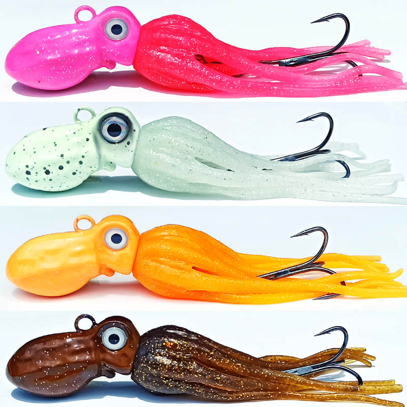 100g 150g 200g 250g 300g 350g 400g 450g cauda lula isca de chumbo jig jig head com saias polvo squid jig jig jig mar