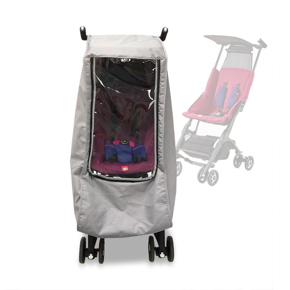 Rain Cover For Goodbaby Pockit Stroller Waterproof Pram Winter Accessories Raincoat Fit GB Pockit 2S 3S 3C +