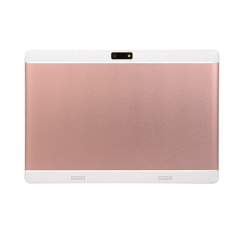 Android Tablet 10.1 Inch 1GB RAM 16GB ROM WiFi Tablet Pc Quad Core Android 8.0 1280x800 IPS Dual Camera Pc Tablet Pink EU Plug