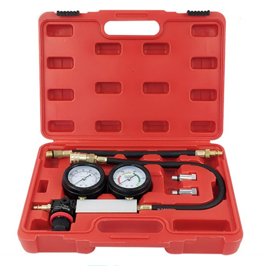 1 Set Cylinder Leak Detector Kit Automobile Cylinder Leak Detectors Security Inspection Cylinder Pressure Leak Tester Tools