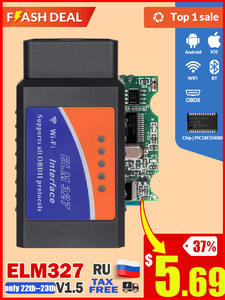 Auto-Diagnostic-Tool Obd2 Scanner PIC18F25K80 Elm 327 Bluetooth OBDII Ios/windows Wifi