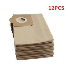 12 adet toz torbaları için elektrikli süpürge Karcher için Wd3 Wd3300 Wd3.500P Mv3 Wd3200 Se4001 Se4002 6.959 130 6.904 051 6.904 263