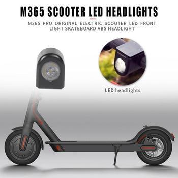 Faro delantero LED para patinete eléctrico, Original, ABS, para Segway Ninebot ES1 ES4 Xiaomi M365, accesorios para Scooter