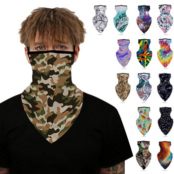 11.11 Ourdoor Ice Silk Triangle Scarf Cycling Bandana Hiking Camping Hunting Running Army Bicycle Military Tactical Neck Gaiter image